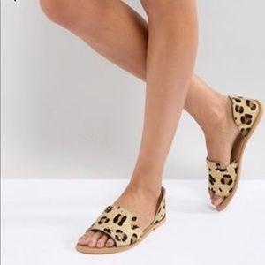 Never Worn Cheetah Sandals